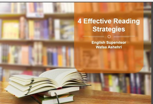 effective reading strategies Start studying effective reading strategies learn vocabulary, terms, and more with flashcards, games, and other study tools.