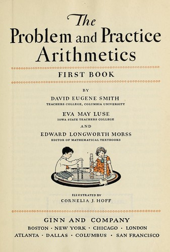 The problem and practice arithmetics by David Eugene Smith