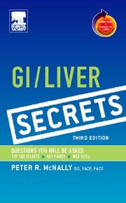 Cover of: GI/Liver Secrets | Peter McNally