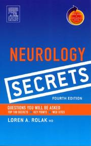 Cover of: Neurology Secrets | Loren Rolak