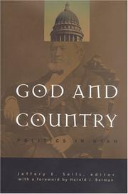Cover of: God and Country | Harold J. (FWD) Berman