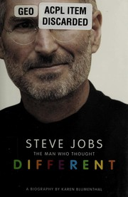 Cover of: Steve Jobs | Karen Blumenthal