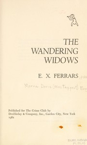 Cover of: The Wandering Widows | Elizabeth Ferrars