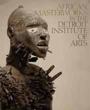 Cover of: AFRICAN MASTER DETROIT INST | KAN MICHAEL