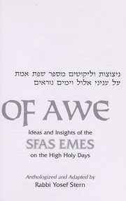 Cover of: Days of Awe by Yosef Stern