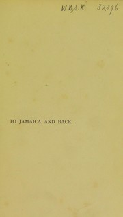 Cover of: To Jamaica and Back | Scott, James Sibbald David, bart. (Sir)