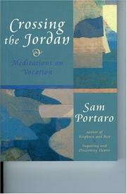 Cover of: Crossing the Jordan | Sam Portaro