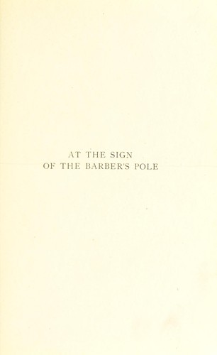 At the sign of the barber's pole by Andrews, William