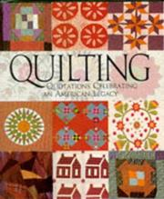 Cover of: Quilting by Joyce S. Steward