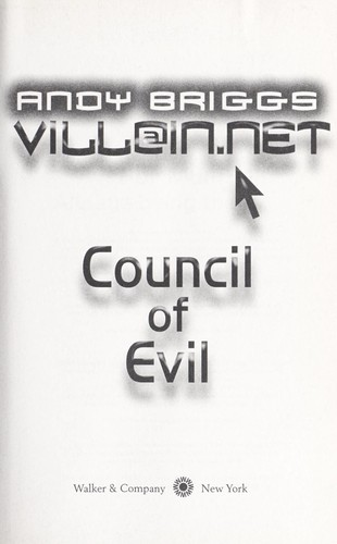 Council of evil by Andy Briggs