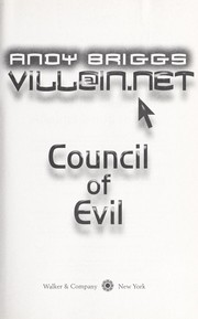 Cover of: Council of evil by Andy Briggs