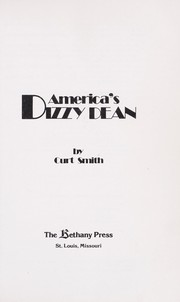 Cover of: America's Dizzy Dean | Curt Smith