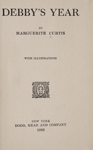 Debby's year by Marguerite Curtis
