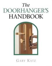 Cover of: The doorhanger's handbook | Gary Katz