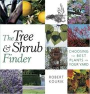 Cover of: The Tree and Shrub Finder by Robert Kourik