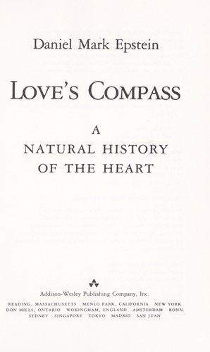 Love's compass by Daniel Mark Epstein