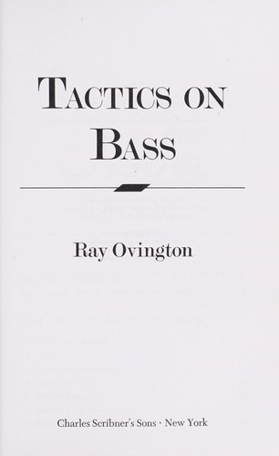 Tactics on bass by Ray Ovington