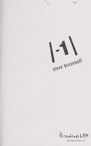 The absolute value of -1 by Steven Brezenoff