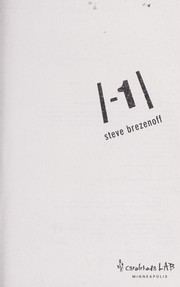 Cover of: The absolute value of -1 | Steven Brezenoff