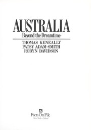 Cover of: Australia : beyond the dreamtime |