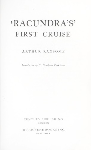 Racundra's First Cruise by John Arthur Ransome Marriott