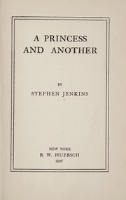 Cover of: A princess and another | Jenkins, Stephen