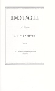 Cover of: Dough | Mort Zachter