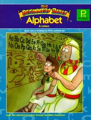 Cover of: The Beginners Bible Alphabet & Letters | American Education Publishing