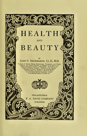 Cover of: Health and beauty | John Vietch Shoemaker