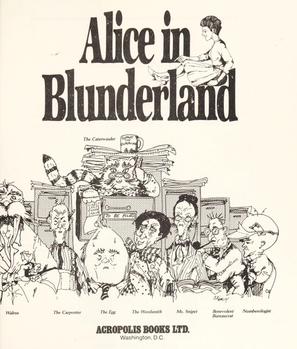 Alice in blunderland by Anderson, Jack