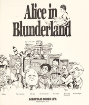 Cover of: Alice in blunderland | Anderson, Jack
