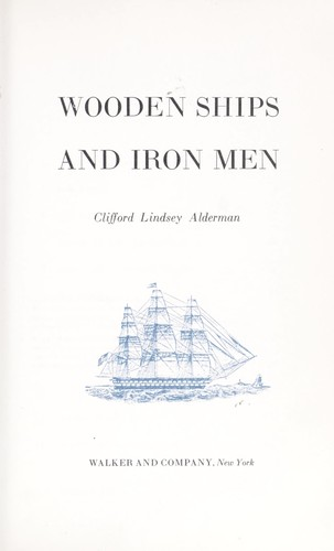 Wooden Ships And Iron Men Open Library