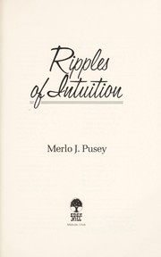 Cover of: Ripples of Intuition | Merlo J. Pusey