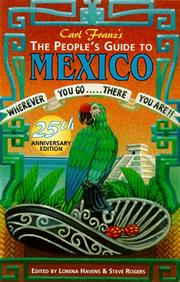 Cover of: The people's guide to Mexico by Carl Franz