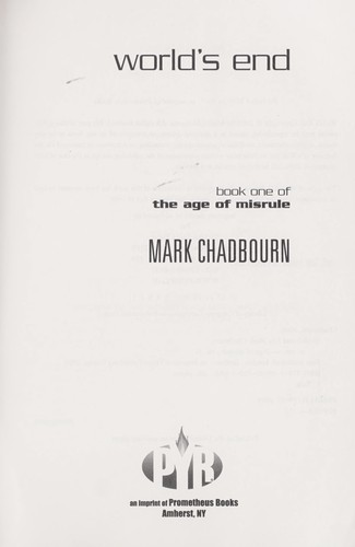 World's end by Mark Chadbourn