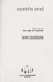 Cover of: World's end by Mark Chadbourn