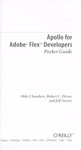 Apollo for Adobe Flex developers by Mike Chambers