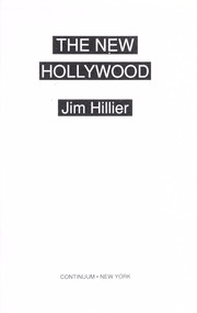 Cover of: The new Hollywood | Jim Hillier