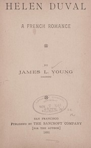 Cover of: Helen Duval | James L. Young