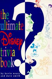 Cover of: The ultimate Disney trivia book | Kevin F. Neary