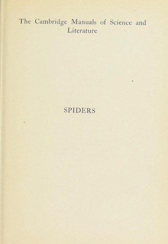 Spiders by Cecil Warburton
