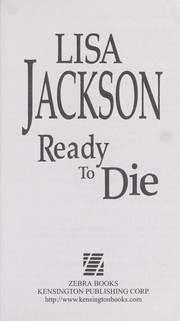 Cover of: Ready to Die | Lisa Jackson