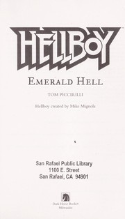 Cover of: Hellboy: Emerald hell | Tom Piccirilli