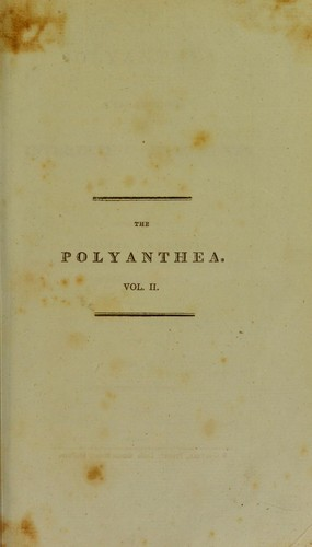 The polyanthea by Charles Henry Wilson
