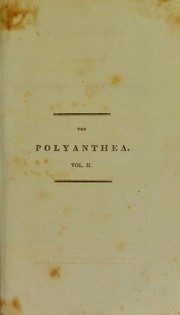 Cover of: The polyanthea | Charles Henry Wilson