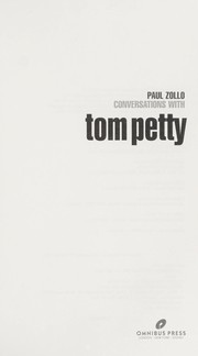 Cover of: Conversations with Tom Petty by Paul Zollo