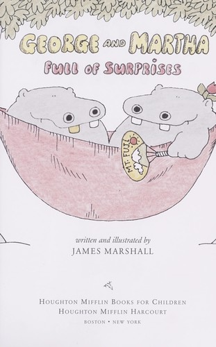 George and Martha, full of surprises by James Marshall