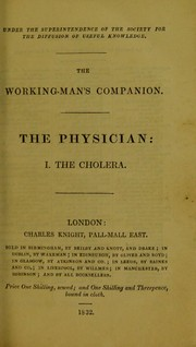Cover of: The working-man's companion | John Conolly
