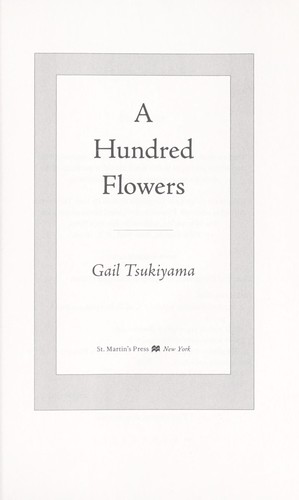 A hundred flowers by Gail Tsukiyama