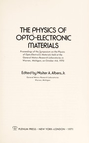 Wave motion in elastic solids 1991 edition open library physics of opto electronic materials general motoes symposium fandeluxe Gallery